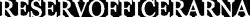 Reservofficerarna Logo